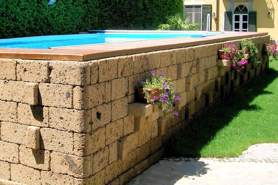 Piscine da giardino fuori terra pro contro dorydory blog - Piscina fuori terra in giardino ...