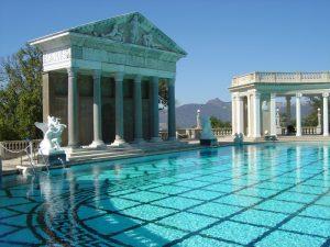 Le piscine di lusso più costose al mondo-Hearst Castle